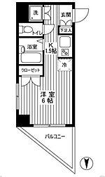 エル・ヴィエントアース武蔵関公園[8階]の間取り