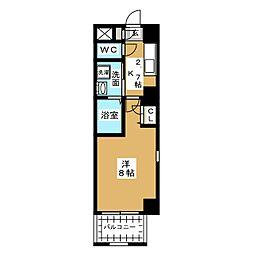 maison アリテ[6階]の間取り