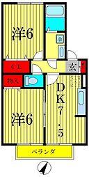 パークヒル[2階]の間取り