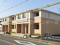 香川県高松市香西西町の賃貸アパートの外観
