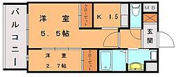 ロイヤルシティ自由ヶ丘[2階]の間取り