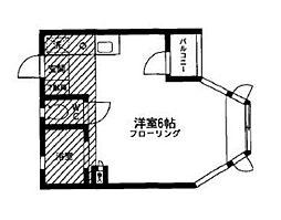 神奈川県相模原市南区麻溝台7丁目の賃貸アパートの間取り