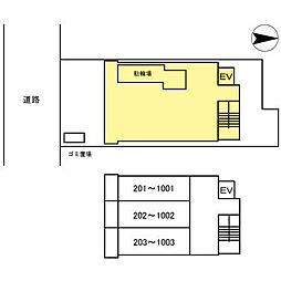 アーバンコンフォート堀江[0401号室]の外観