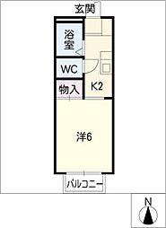 アーバンライフ太田[1階]の間取り
