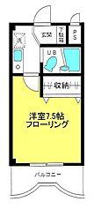 グリーンピュアオグラ[3階]の間取り