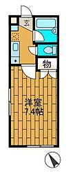レギア新百合ヶ丘[2階]の間取り