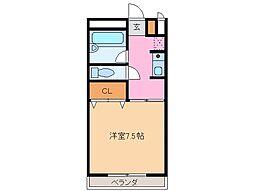 レスポールI[2階]の間取り