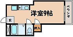 広島県広島市東区戸坂大上3丁目の賃貸アパートの間取り
