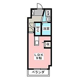 第2我心ヶ丘マンション[2階]の間取り