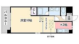 福岡県福岡市西区今宿3丁目の賃貸マンションの間取り