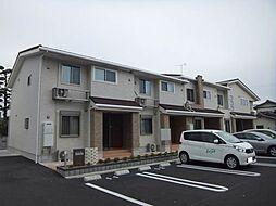 愛媛県松山市余戸東5丁目の賃貸アパートの外観
