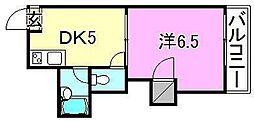 メゾンスバルpart1[303 号室号室]の間取り