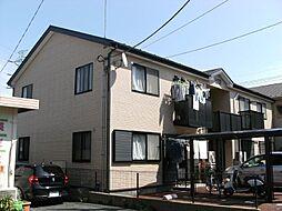 埼玉県川口市赤山の賃貸アパートの外観
