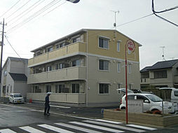 埼玉県さいたま市岩槻区西町5丁目の賃貸アパートの外観