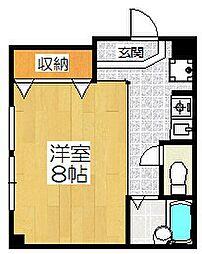 ベェルビュウ寿3番館[2階]の間取り