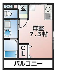 ARISA津田沼[3階]の間取り