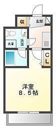 セレニテ甲子園[6階]の間取り