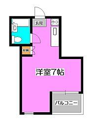 ツカサビル[3階]の間取り