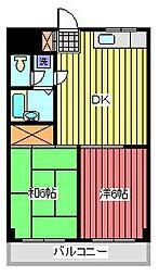 NCKビル[2階]の間取り