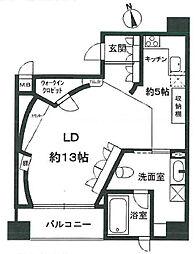 西宮アネックス[6階]の間取り
