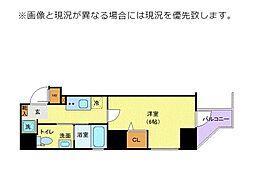 JR山手線 巣鴨駅 徒歩5分の賃貸マンション 5階1Kの間取り