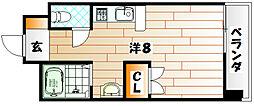プレアール井堀[2階]の間取り