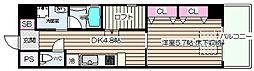 ARROW FIELDS弐番館(アローフィールズニバンカン)[3階]の間取り
