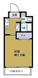 エグゼ西大阪[6階]の間取り