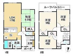 畠田駅 2,380万円