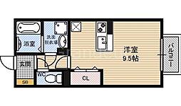 ハーフタイムIMAZU(イマズ)[2階]の間取り
