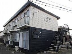 エフシリーズ東富井A棟[1階]の外観