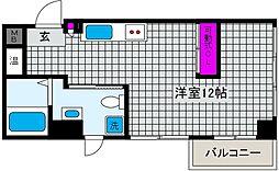 S-Cute魚崎(エスキュート)[6階]の間取り