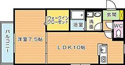 シャノワール[2階]の間取り