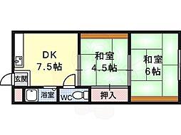 河内松原駅 3.5万円