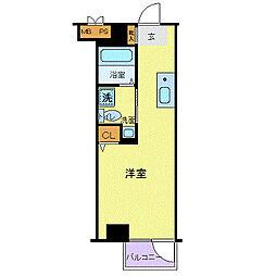 パレ・ドール田端[2階]の間取り