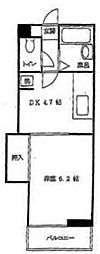 アネシス洋光台[2階]の間取り