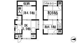 [一戸建] 兵庫県宝塚市高司2丁目 の賃貸【/】の間取り