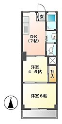 第一不二ビル[3階]の間取り