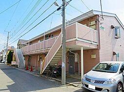 千葉県船橋市上山町2丁目の賃貸アパートの外観
