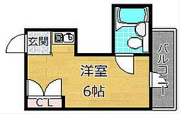 ハマンション伊加賀[3階]の間取り