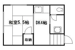 山彦荘[2階]の間取り