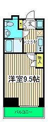 カンパニーレ横浜[1003号室]の間取り