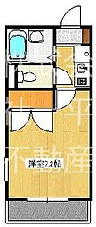 インペリアル湘南II[1階]の間取り