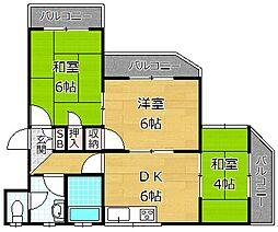 ハイツJIROBEE[1階]の間取り