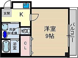 ミヤビグレース[2階]の間取り