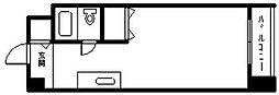 メゾンドノール[713号室]の間取り