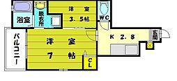 セリアリーゼ[1階]の間取り