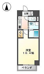 ランドハウス浄心[7階]の間取り