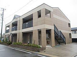愛知県額田郡幸田町大字相見字北鷲田の賃貸マンションの外観