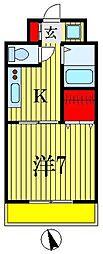 ルーラル七番館[2階]の間取り
